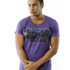 FEELGOOD THREADS – STAY CLASSY MIAMI IN VINTAGE PURPLE