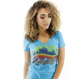 FEELGOOD THREADS – WOMENS – STAY CLASSY LA IN TURQUOISE