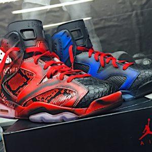 Jordan 6 – Venom x Carnage Python Reconstruction