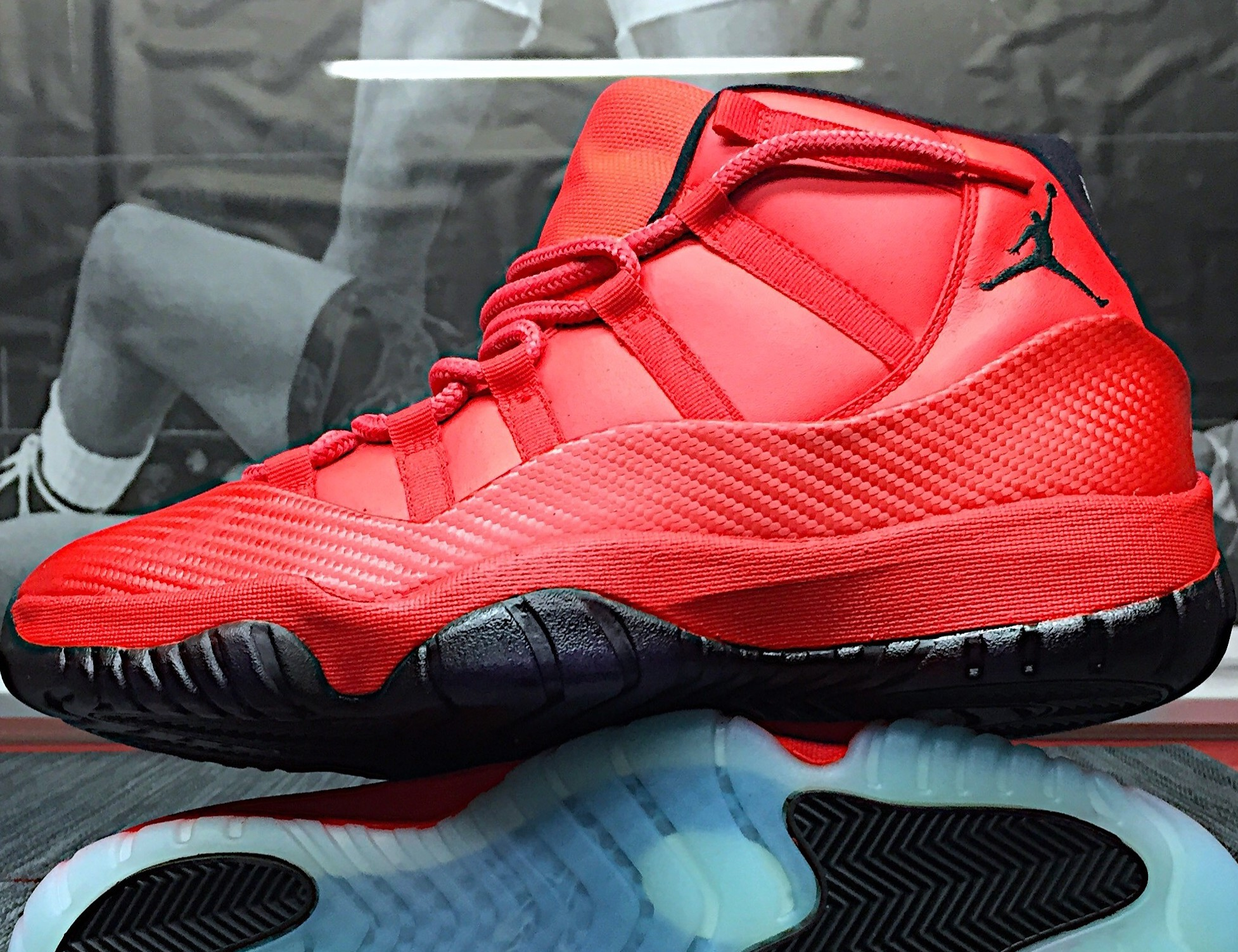 los angeles 78857 dfbd2 Jordan 11 - FERRARIS Red Carbon Fiber Reconstruction