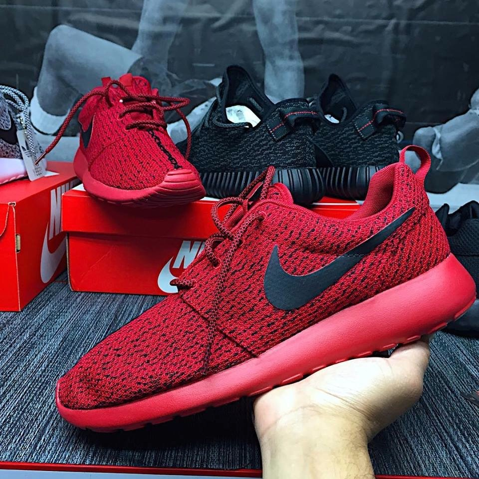 custom nike roshe run red october yeezy boost 350 low price