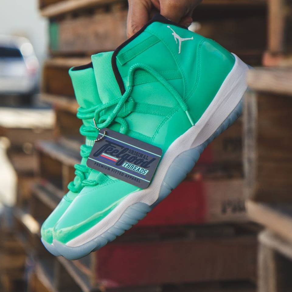 40184643fce17e JORDAN 11 - CHRIS PAUL EMERALD PE   CARMELO ANTHONY PE – FEELGOOD ...