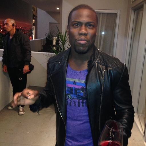 "Kevin Hart in our Feelgood ""Stay Classy Miami"" Tee!"