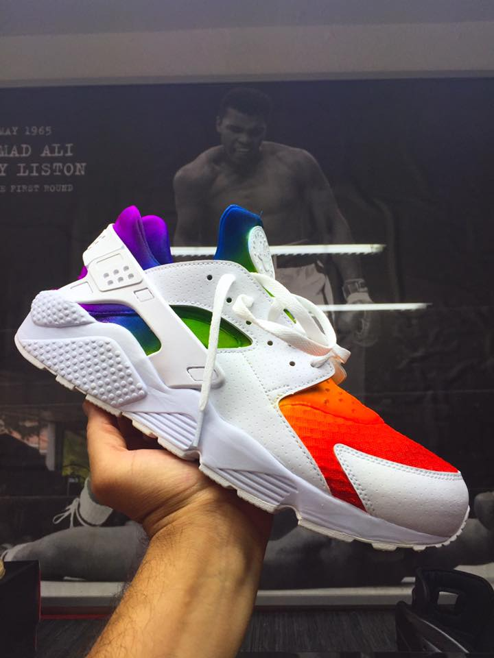 nike air huarache custom