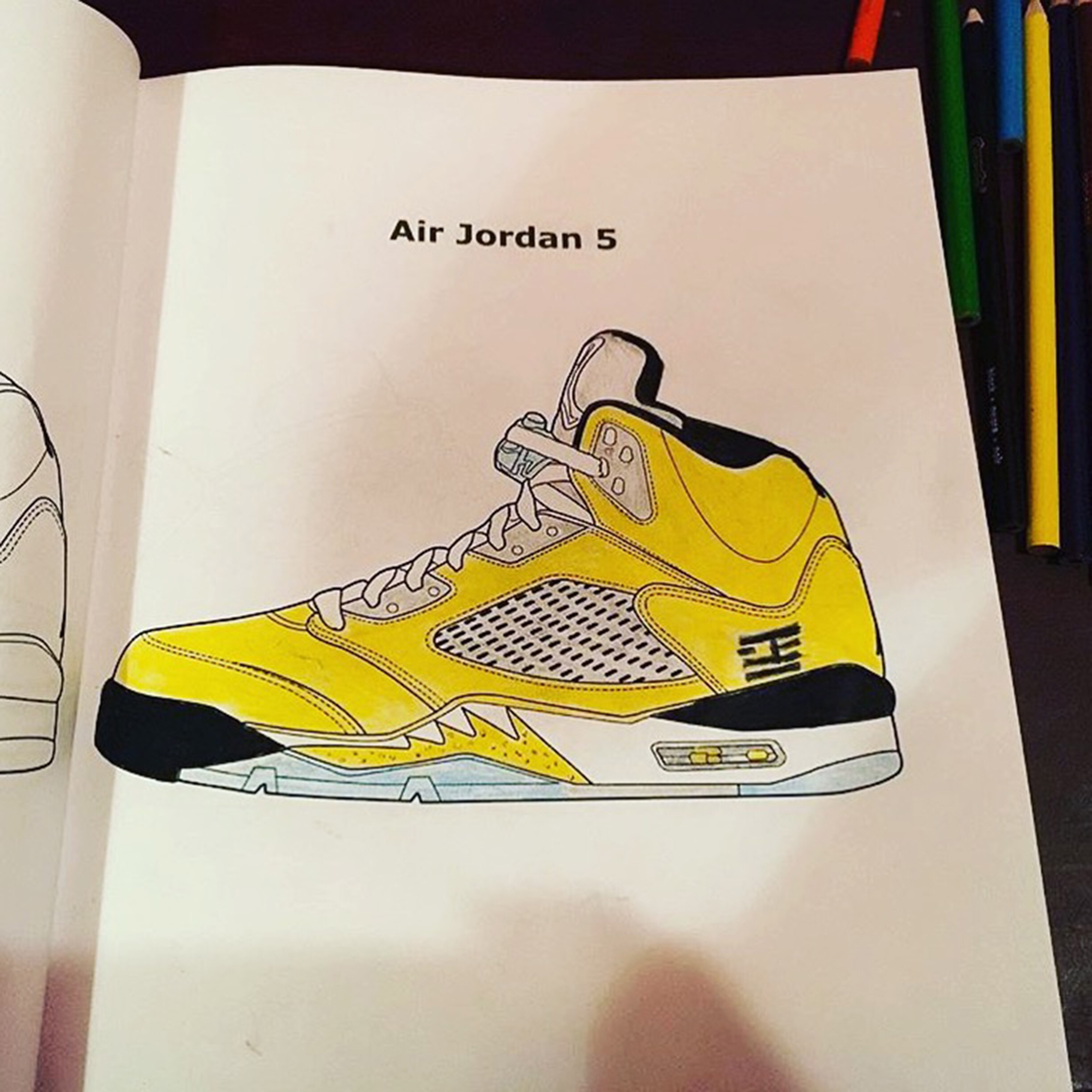 jordan sneaker coloring books u2013 feelgood threads