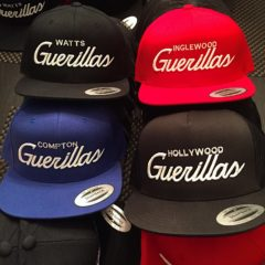 guerilla hollywood snapback hats