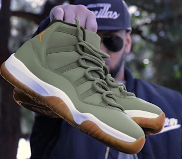 Matte Olive & Gum Bottoms Cookin Up at the Shop!!!