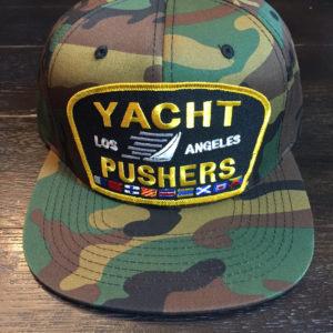 Yacht Pushers Premium Snapback in Camo