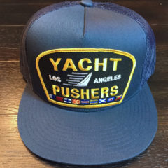 Yacht Pushers snapback trucker in Navy