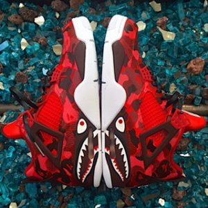 Bape Stencil Complete Pack – Camo Bape + Shark Face Stencils