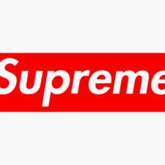 Louis Vuitton x Supreme Box Logo Stencil Set