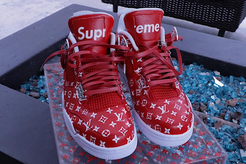 Supreme Jordan Shoes For Sale