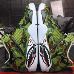 JORDAN 4 – BAPE CUSTOMS IN MULTIPLE COLORS