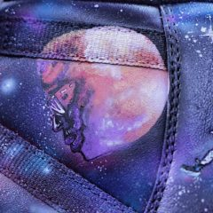 "Kid Cudi ""Man on the Moon"" Stencil"