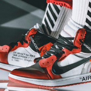 "Off White ""SHOELACES"" / ""AIR"" Stencil Set"