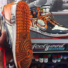 Jordan 1 Shattered Backboard Cartoon Custom