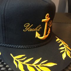 "The Yacht Pushers ""El Capitan"" Snapback"