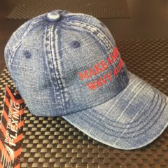 """Make America Wavy Again"" Denim Dad's Hat"