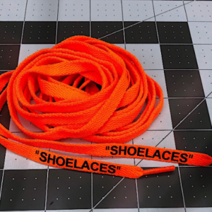 "Premium Off White Replacement Laces – Silicone Pressed 54"" and 63"""